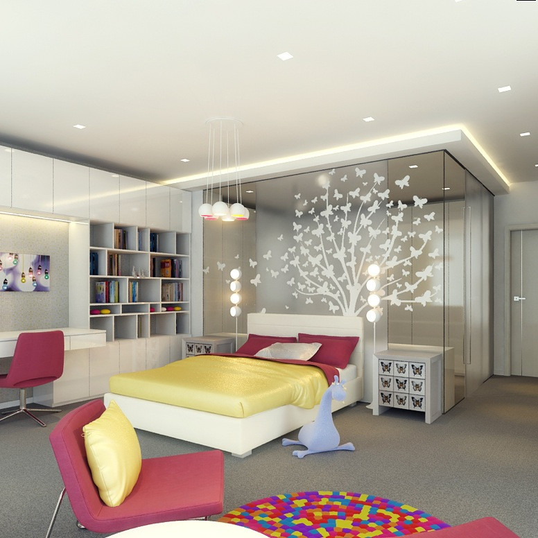 Best ideas about Kids Room Design . Save or Pin Kids Rooms Climbing Walls and Contemporary Schemes Now.