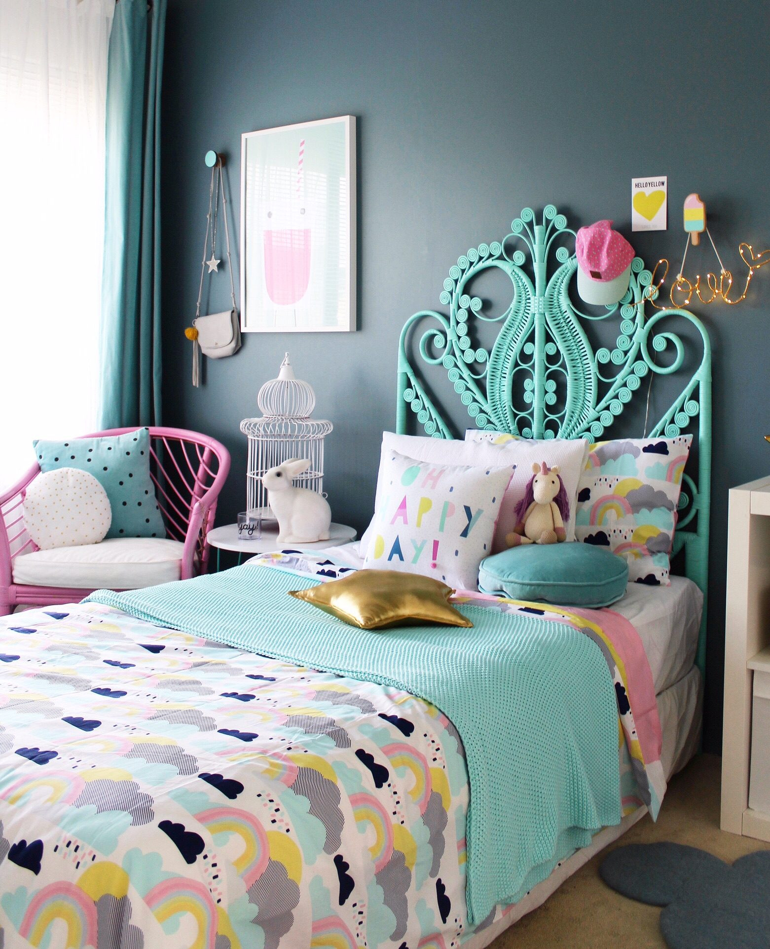 Best ideas about Kids Room Ideas . Save or Pin Way Back Wednesday Kids Room Ideas four cheeky monkeys Now.