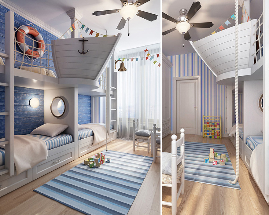 Best ideas about Kids Room Ideas . Save or Pin 22 Creative Kids' Room Ideas That Will Make You Want To Be Now.