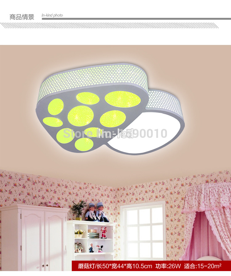 Best ideas about Kids Room Light Fixture . Save or Pin Free shipping LED children lights Kids living room ceiling Now.