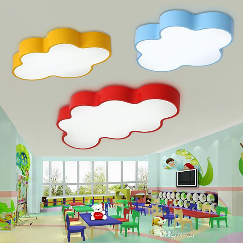 Best ideas about Kids Room Light Fixture . Save or Pin Led Cloud Kids Room Lighting Children Ceiling Lamp Baby Now.