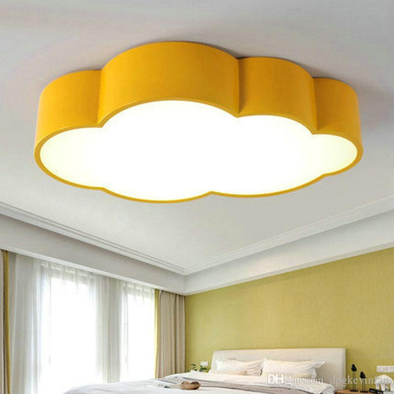 Best ideas about Kids Room Light Fixture . Save or Pin 2018 Led Cloud Kids Room Lighting Children Ceiling Lamp Now.
