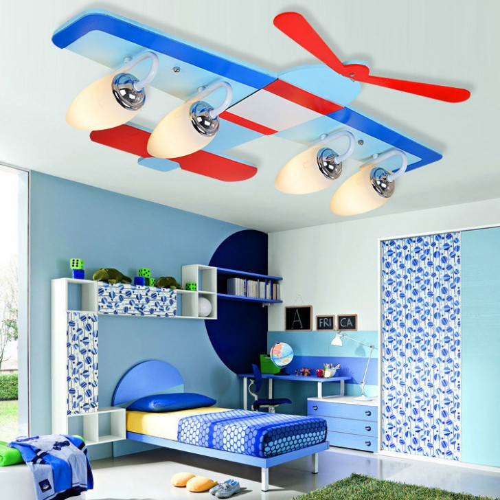 Best ideas about Kids Room Light Fixture . Save or Pin Modern Attractive Airplane Light Fixture Concept for Kids Now.