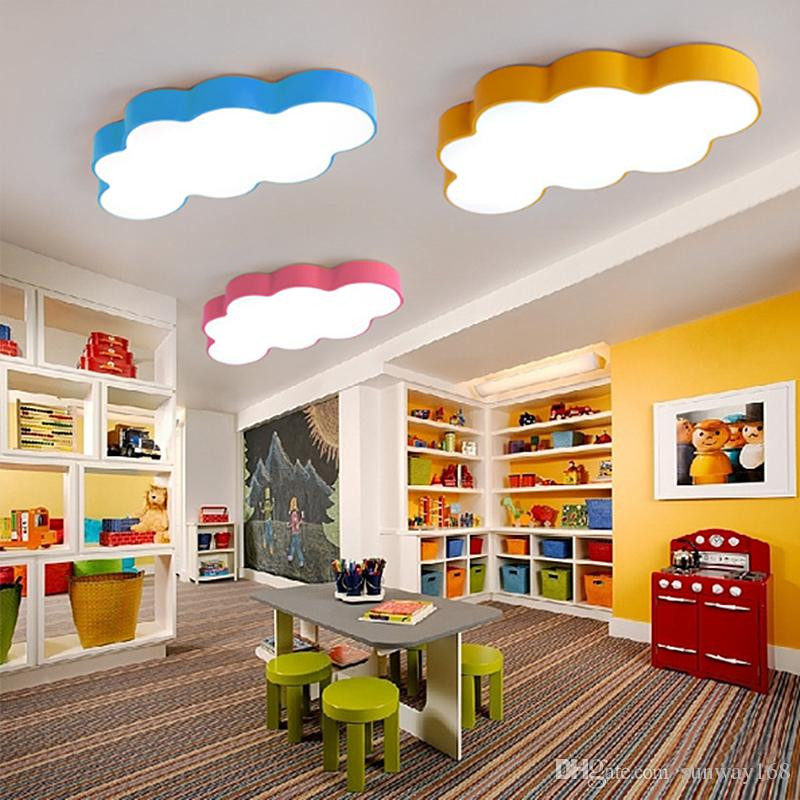 Best ideas about Kids Room Light Fixture . Save or Pin 2019 LED Cloud Kids Room Lighting Children Ceiling Lamp Now.