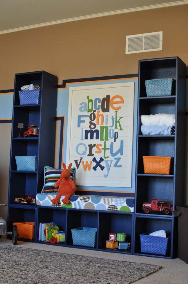 Best ideas about Kids Room Organization Ideas . Save or Pin 28 Genius Ideas and Hacks to Organize Your Childs Room Now.