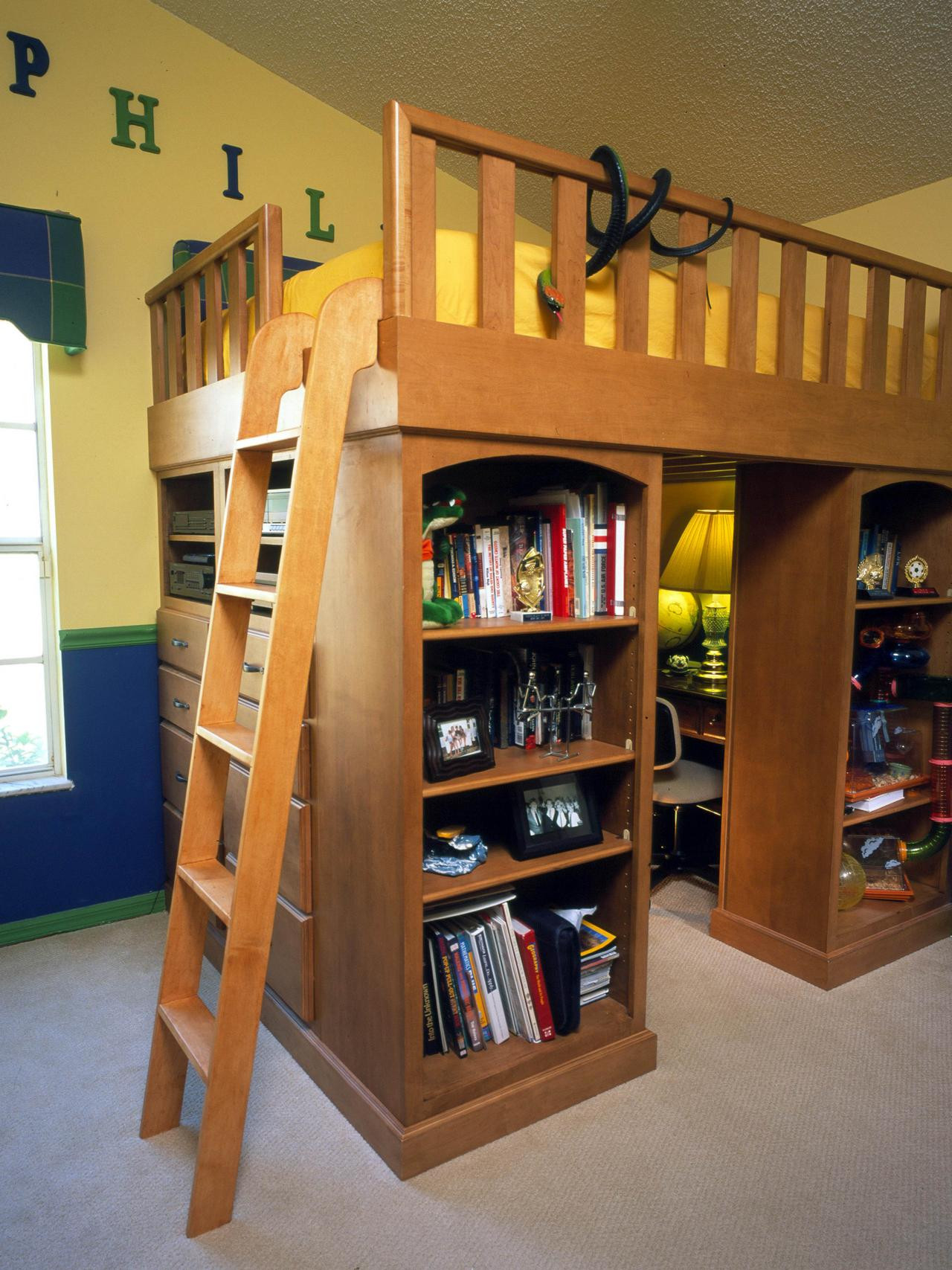 Best ideas about Kids Room Organization Ideas . Save or Pin Diy Kids Book Storage Ideas If You Have Narrow But Tall Now.
