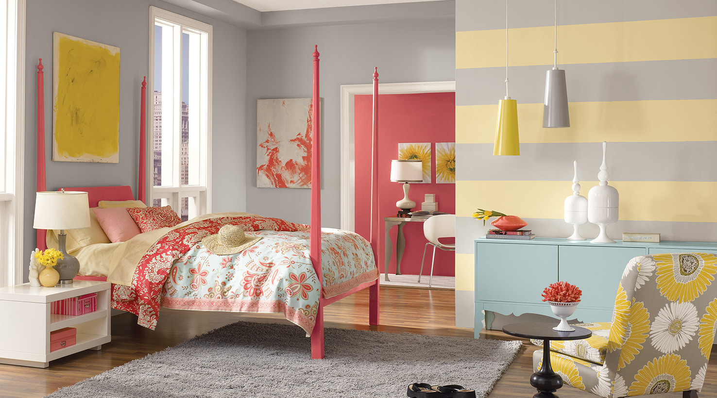 Best ideas about Kids Room Paint Colors . Save or Pin Teen Room Paint Color Ideas Now.