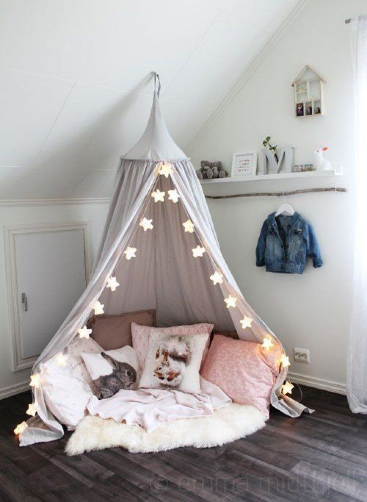 Best ideas about Kids Room Tent . Save or Pin Teepee reading corner Now.