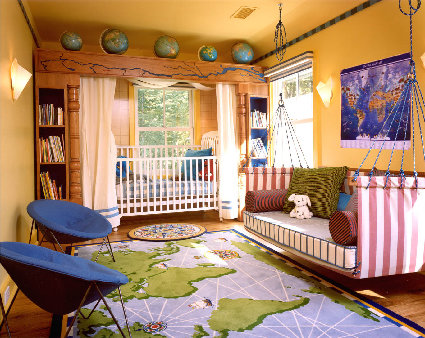 Best ideas about Kids Room Themes . Save or Pin 15 Nice Kids Room Decor Ideas With Example Pics Now.