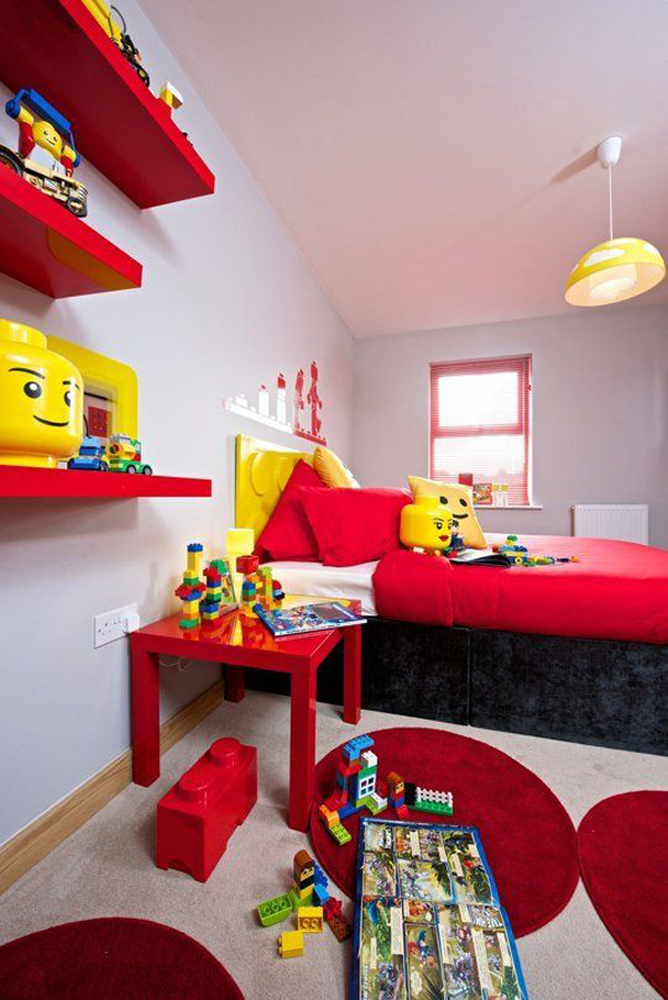 Best ideas about Kids Room Themes . Save or Pin 10 Best Kids Bedroom With Lego Themes Now.