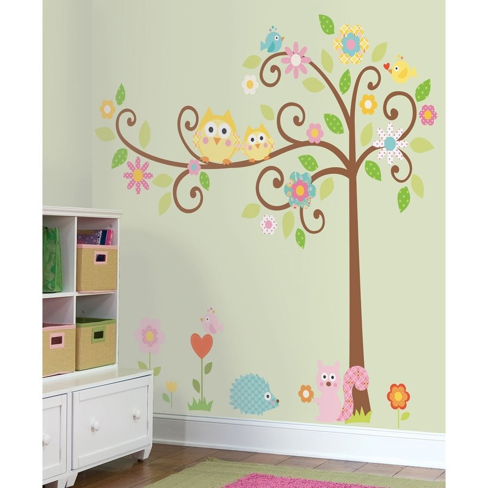 Best ideas about Kids Room Wall Art . Save or Pin New Giant SCROLL TREE WALL DECALS Baby Nursery Stickers Now.