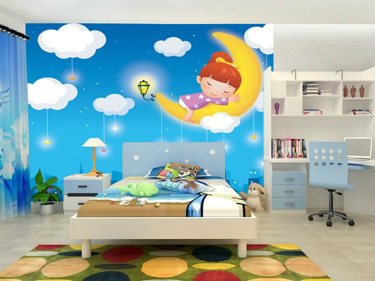 Best ideas about Kids Room Wall Art . Save or Pin Mural Wallpaper For Kids Rooms Free HD Wallpapers Now.