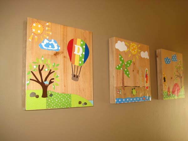 Best ideas about Kids Room Wall Art . Save or Pin Top 28 Most Adorable DIY Wall Art Projects For Kids Room Now.