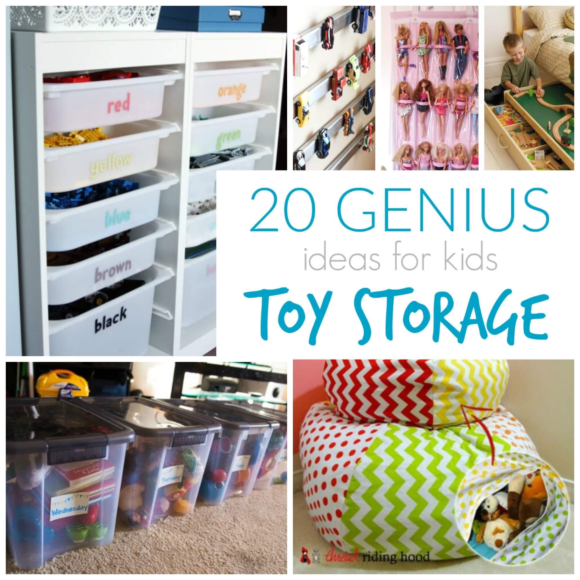 Best ideas about Kids Rooms Storage Ideas . Save or Pin 20 Genius Toy Storage Ideas for Kids Rooms Now.
