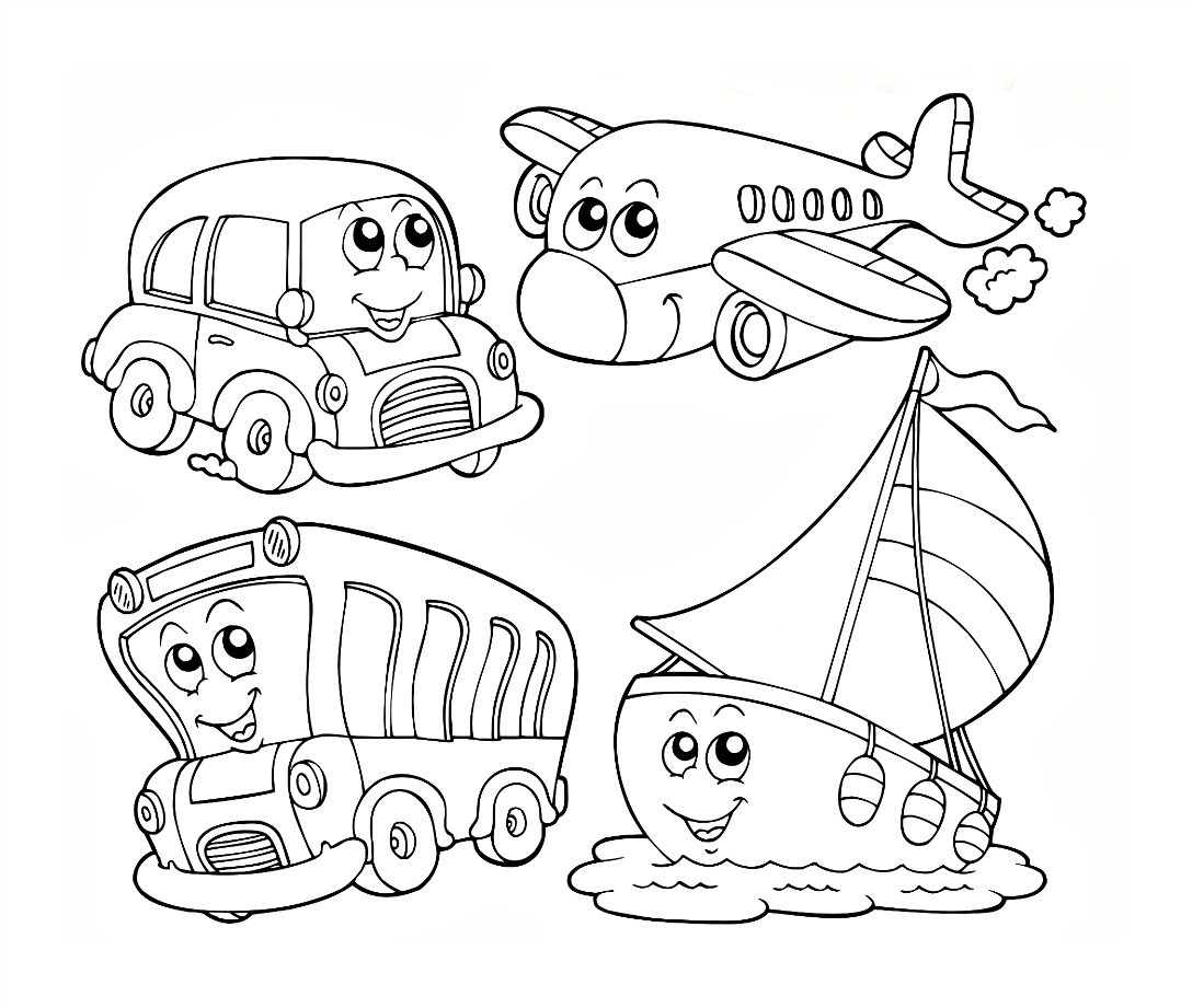 Kindergarten Free Coloring Sheets  Christmas Coloring Pages For Preschoolers Printable 6