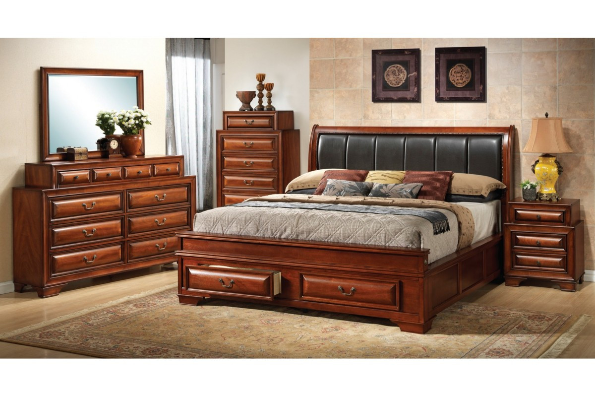 Best ideas about King Size Bedroom Set . Save or Pin Cheap King Size Bedroom Furniture Sets Home Furniture Design Now.