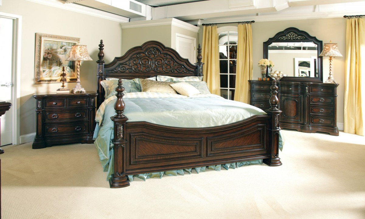 Best ideas about King Size Bedroom Set . Save or Pin Used King Size Bedroom Set Home Furniture Design Now.
