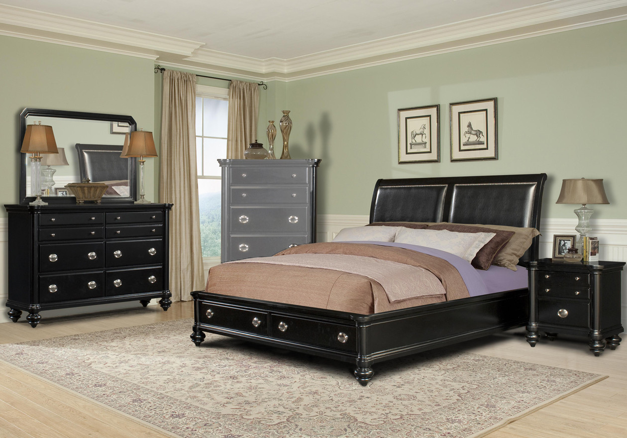 Best ideas about King Size Bedroom Set . Save or Pin Black King Size Bedroom Sets Home Furniture Design Now.