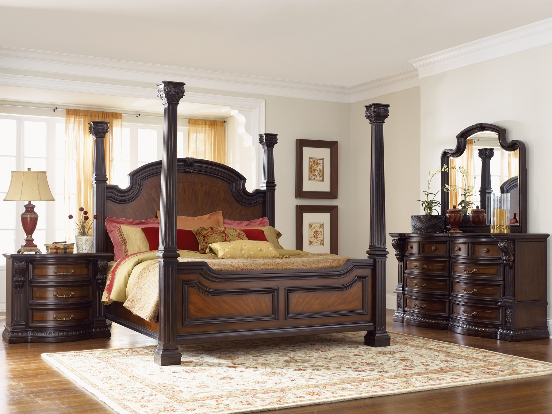 Best ideas about King Size Bedroom Set . Save or Pin King Size Bedroom Furniture Now.