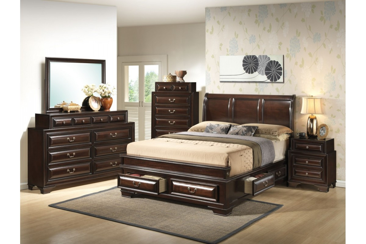 Best ideas about King Size Bedroom Set . Save or Pin New King Size Storage Bedroom Sets Now.