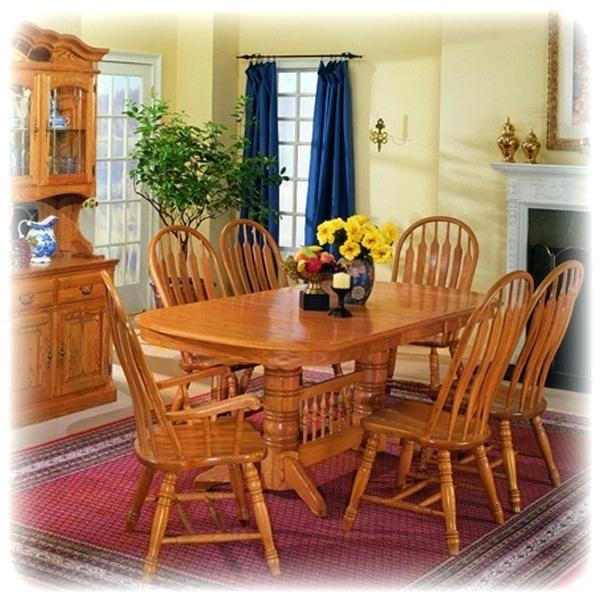 Best ideas about Kitchen & Dining Room Table . Save or Pin Oak Dining Table Set Country Oak 8 Foot Dining Table Now.