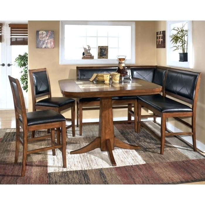 Best ideas about Kitchen & Dining Room Table . Save or Pin Ashley Furniture Dining Room Table With Bench Enchanting Now.
