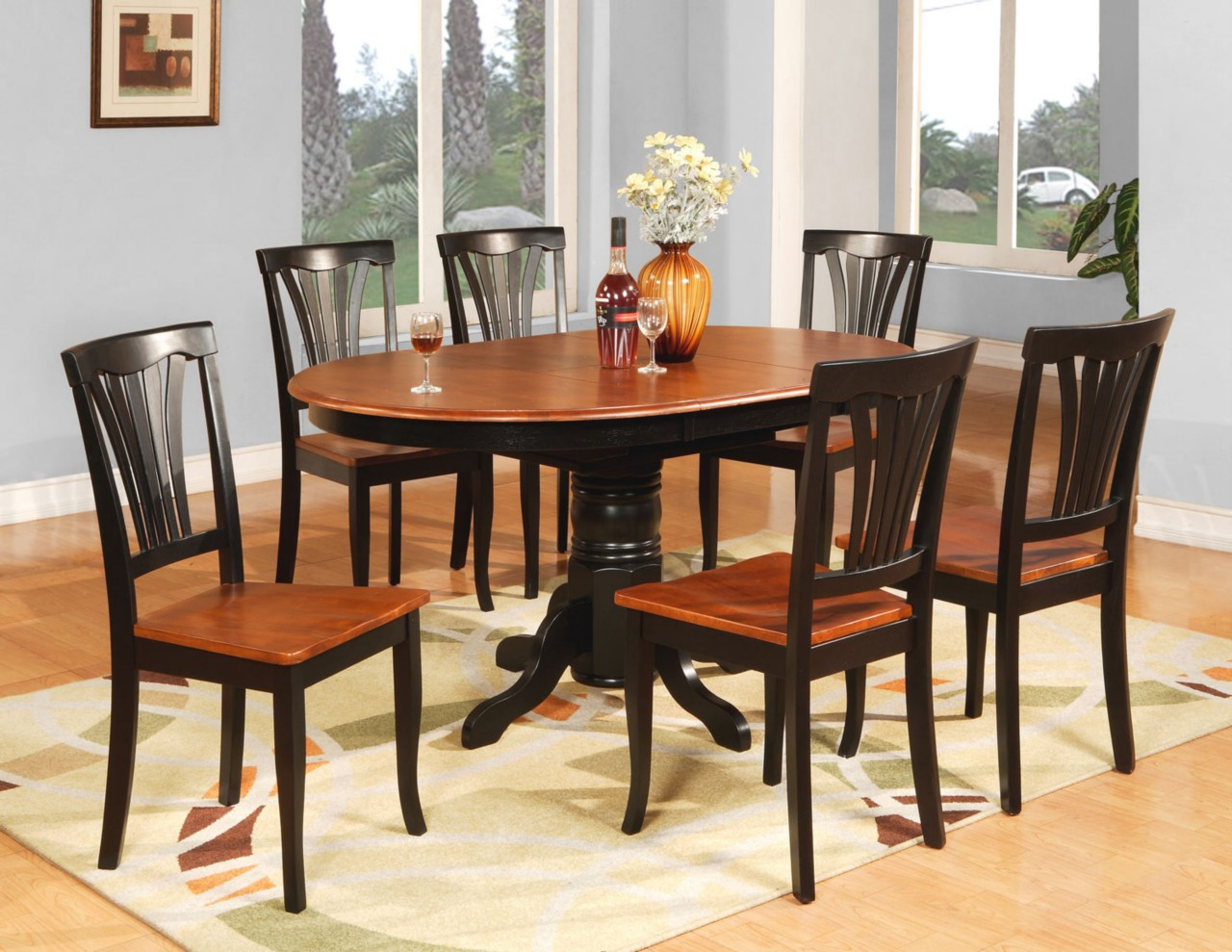 Best ideas about Kitchen & Dining Room Table . Save or Pin 7 PC OVAL DINETTE KITCHEN DINING ROOM TABLE & 6 CHAIRS Now.
