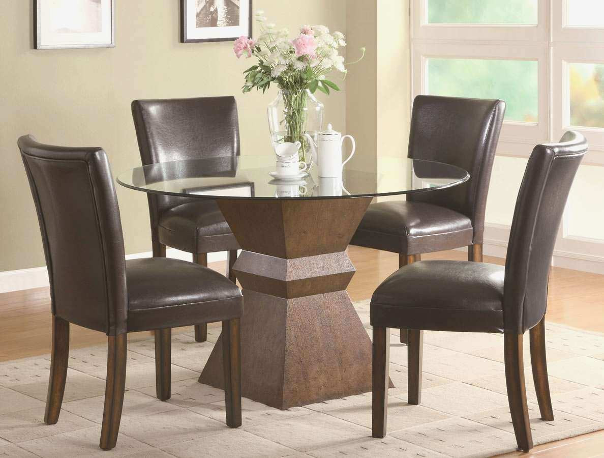Best ideas about Kitchen & Dining Room Table . Save or Pin Dining Room Table Leather Chairs Best Kitchen & Dining Now.