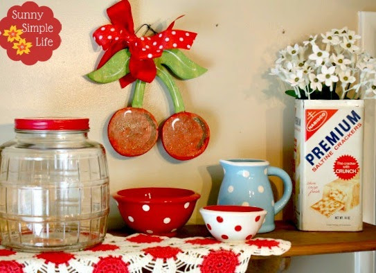 Best ideas about Kitchen Decor Items . Save or Pin Sunny Simple Life Vintage Kitchen Decor Now.
