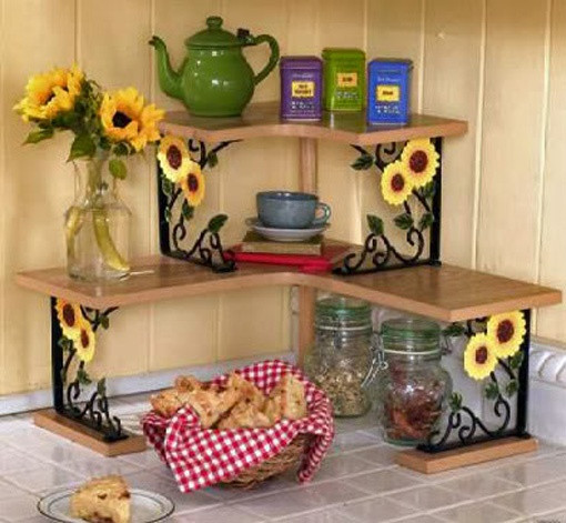 Best ideas about Kitchen Decor Items . Save or Pin 9 best Rooster and Sunflower Kitchen Items images on Pinterest Now.