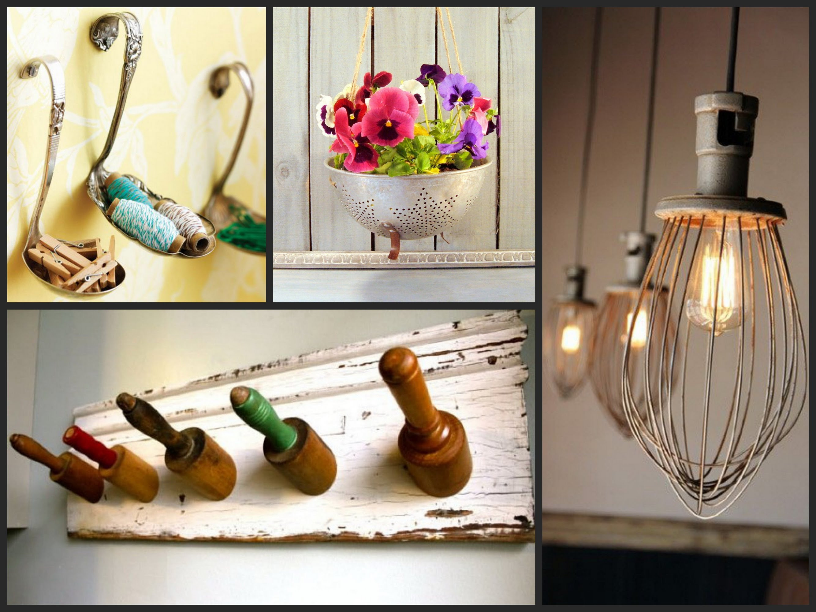 Best ideas about Kitchen Decor Items . Save or Pin Best Ideas To Reuse Old Kitchen Items Recycled Utensil Now.