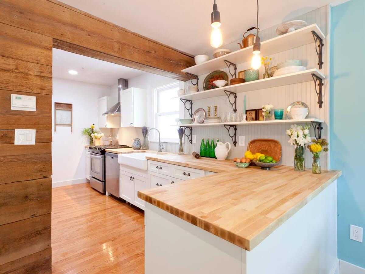 Best ideas about Kitchen Decoration Ideas . Save or Pin 23 Best Cottage Kitchen Decorating Ideas and Designs for 2019 Now.