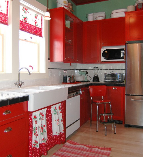 Best ideas about Kitchen Decoration Image . Save or Pin Strawberry kitchen decoration with printed kitchen Now.