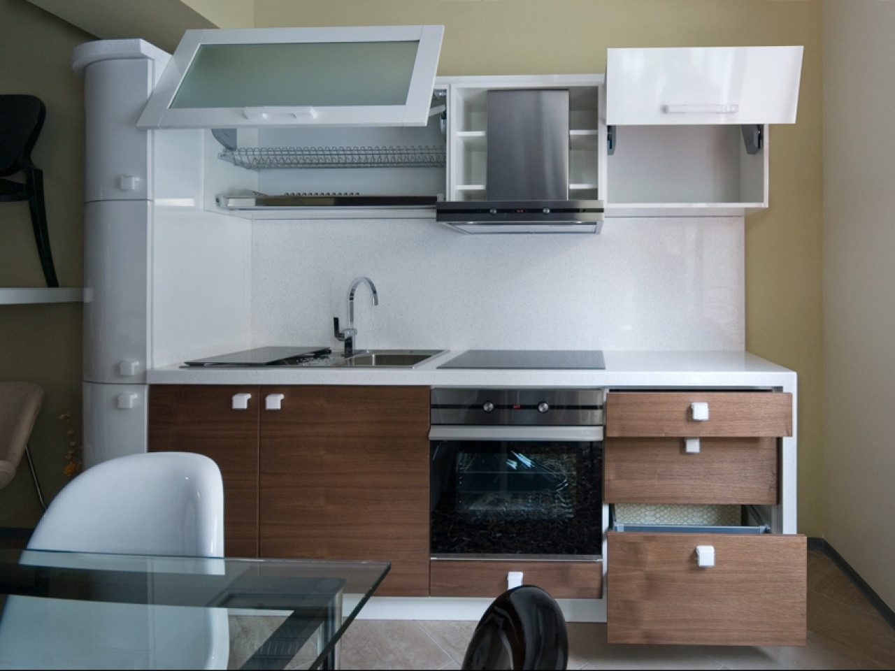 Best ideas about Kitchen Decoration Image . Save or Pin Kitchen Engaging Modern L Shape Kitchen Decoration Using Now.