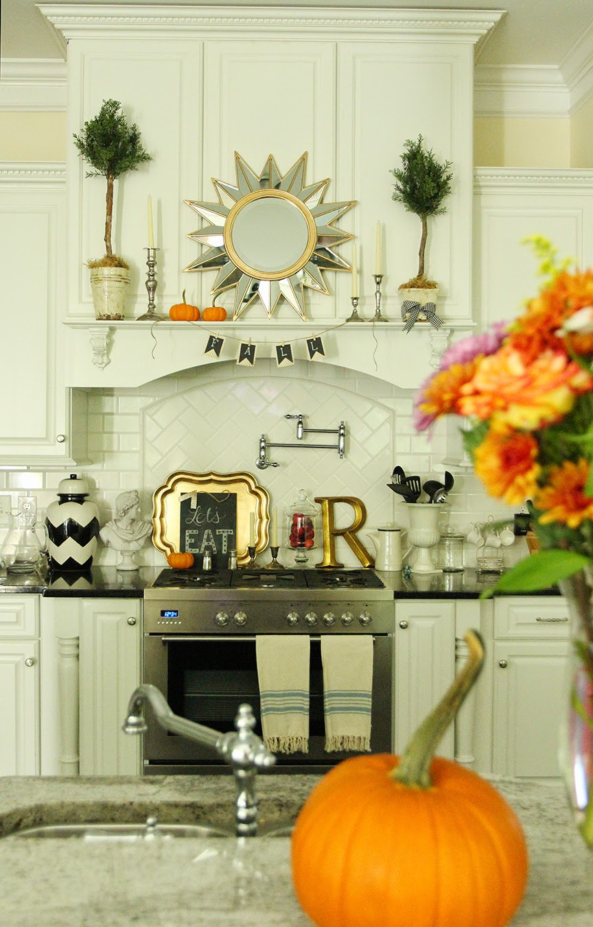 Best ideas about Kitchen Decoration Image . Save or Pin Simple Fall Kitchen Decor Now.