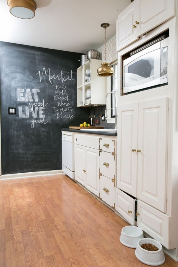 Best ideas about Kitchen Decoration Image . Save or Pin Kitchen chalkboard ideas – creative decoration or a Now.