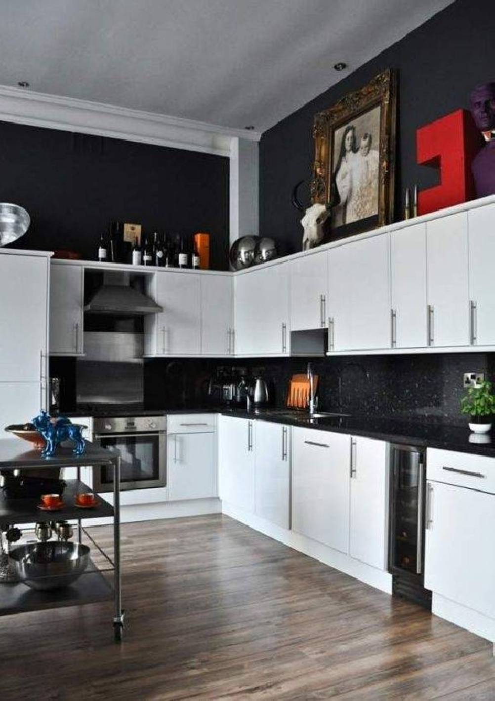 Best ideas about Kitchen Decoration Image . Save or Pin Kitchen Decor Black And White Now.