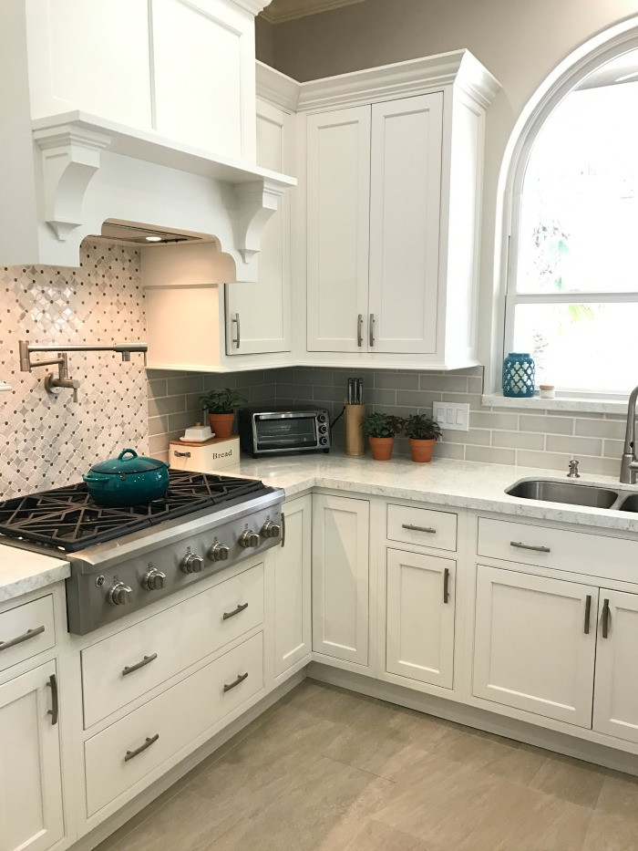 Best ideas about Kitchen Decoration Image . Save or Pin White Kitchen Update Starmark Kitchen Cabinets & Lusso Now.