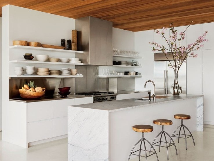 Best ideas about Kitchen Decoration Image . Save or Pin Tips on Organize Minimalist Kitchen Shelves Now.