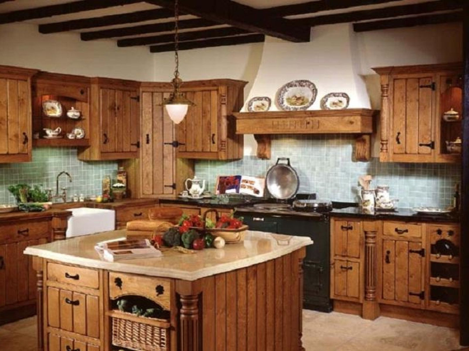 Best ideas about Kitchen Decoration Image . Save or Pin Country kitchen decor TheyDesign TheyDesign Now.