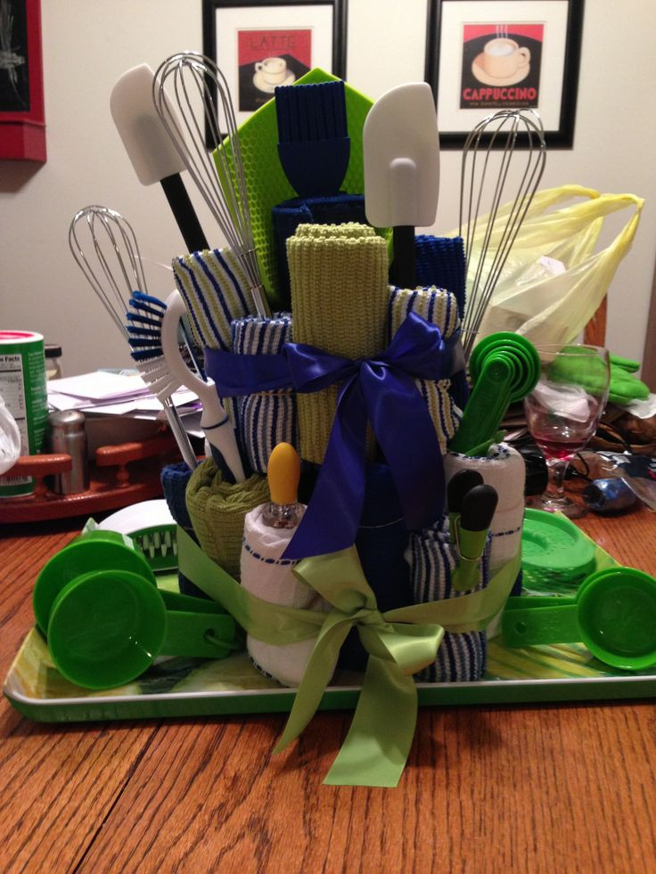 Kitchen Gift Baskets Ideas  Best 25 Kitchen towel cakes ideas on Pinterest