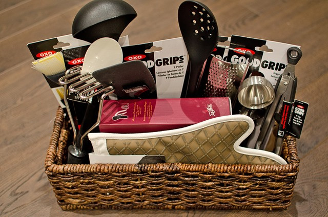 Kitchen Gift Baskets Ideas  DIY Gift Basket Tutorial