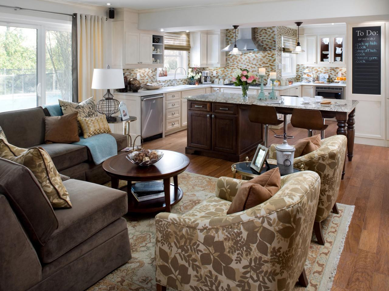 Best ideas about Kitchen Open To Family Room . Save or Pin Open Kitchen Design Why You Need It and How to Style It Now.