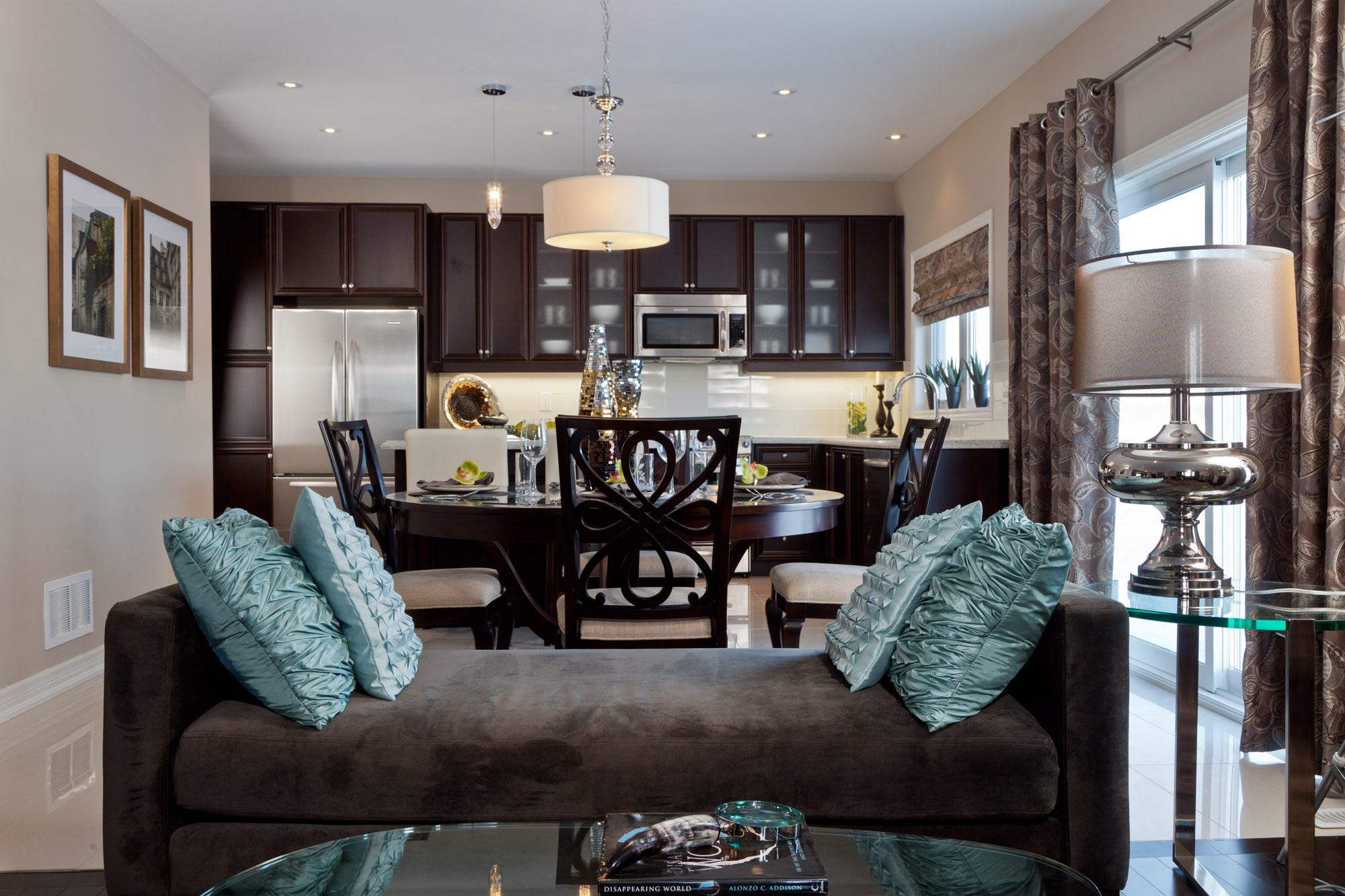 Best ideas about Kitchen Open To Family Room . Save or Pin Kitchen lamp open kitchen living room layouts open Now.