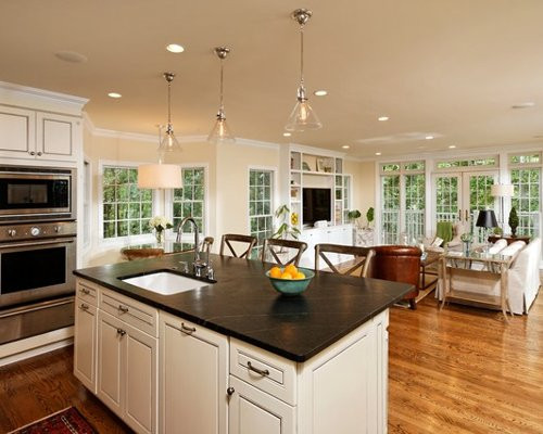 Best ideas about Kitchen Open To Family Room . Save or Pin Open Kitchen And Family Room Ideas Remodel and Now.