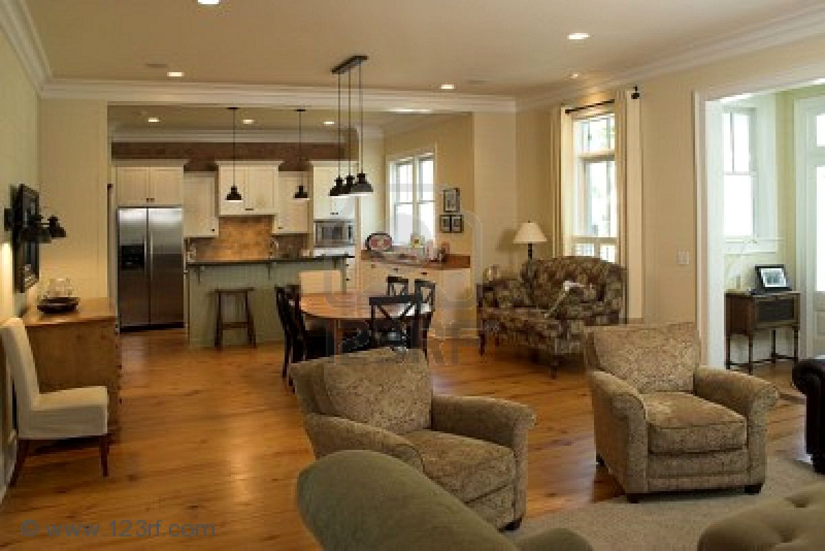 Best ideas about Kitchen Open To Family Room . Save or Pin Open Kitchen Floor Plans for Spacious Look Designoursign Now.