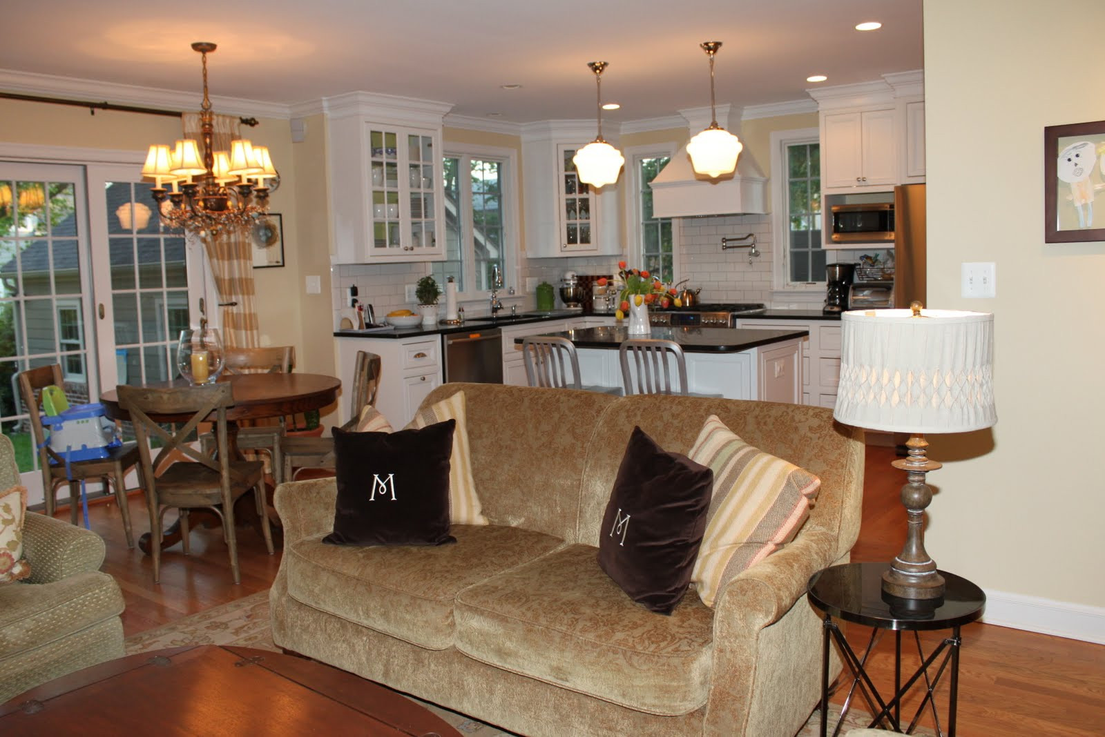Best ideas about Kitchen Open To Family Room . Save or Pin HOUSEography Open Floor Plan Connectivity and some new Now.