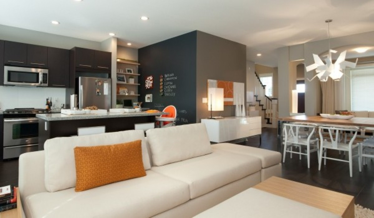 Best ideas about Kitchen Open To Family Room . Save or Pin Open kitchen and living room ideas Now.