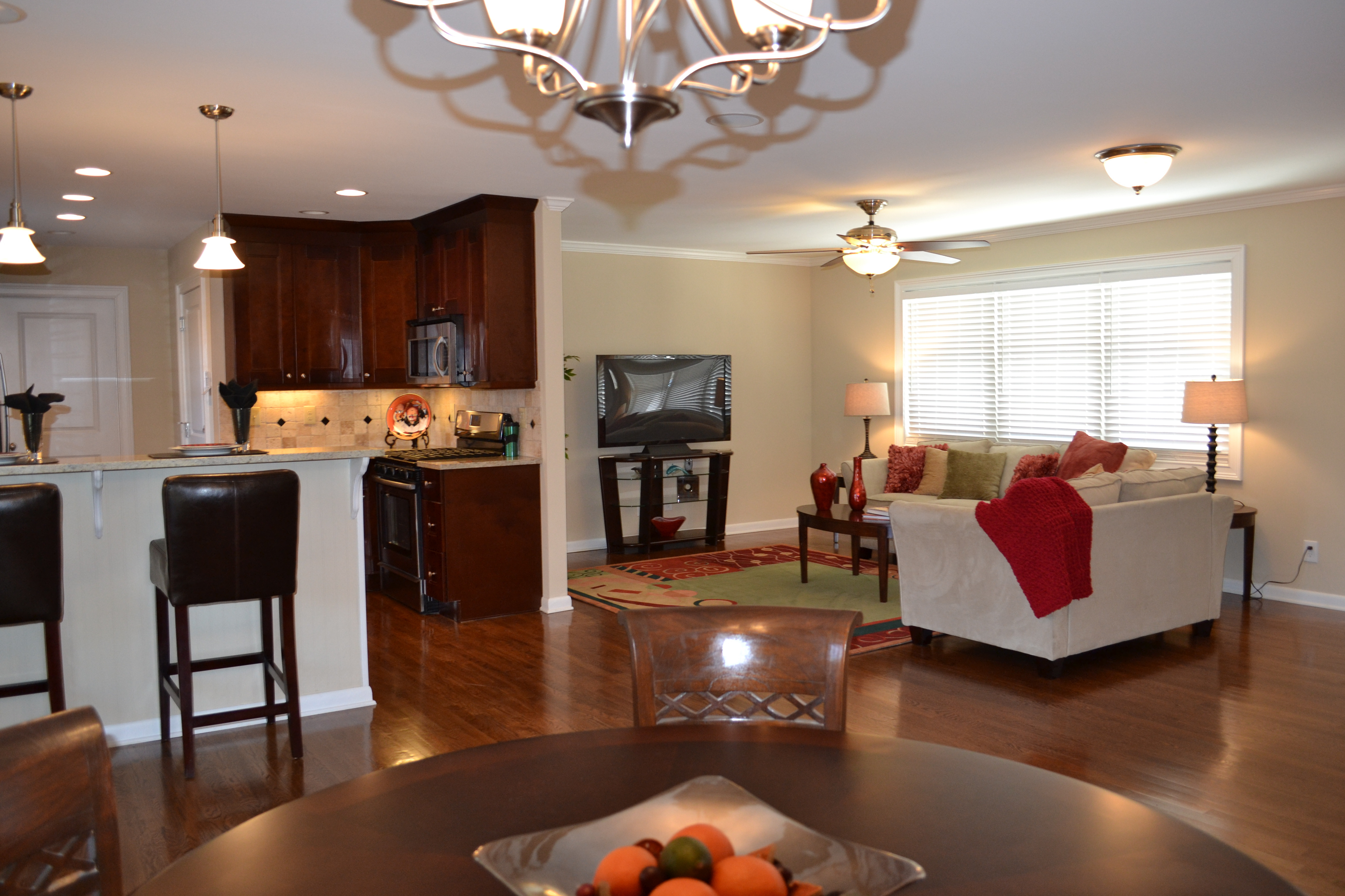 Best ideas about Kitchen Open To Family Room . Save or Pin Kitchen Open To Family Room Kitchen Design Ideas Now.