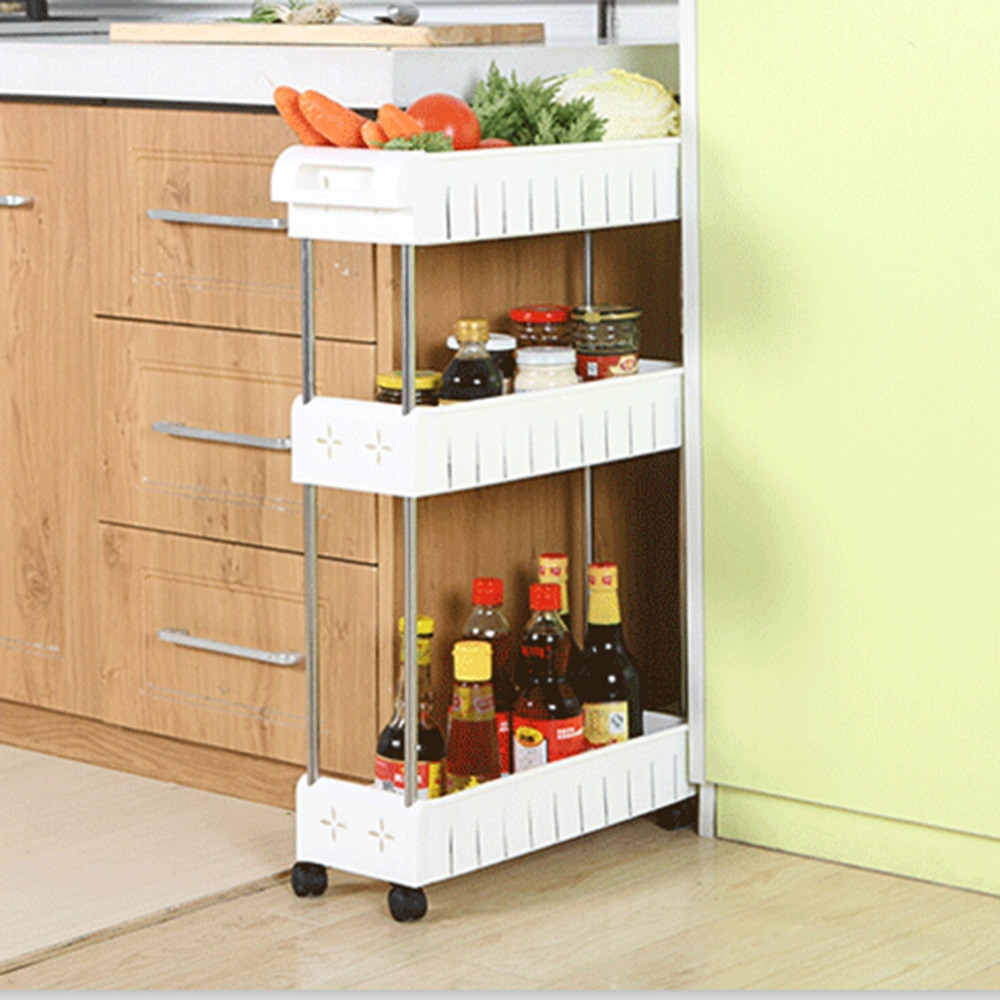 Best ideas about Kitchen Organizer Rack . Save or Pin Multipurpose Shelf With Removable Kitchen Bathroom Storage Now.